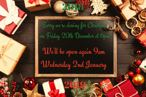 Beehive Healthcare | Swedish Massage, Pregnancy Massage and Yoga Chester |Christmas opening hours for 2018 at Beehive Healthcare, Chester