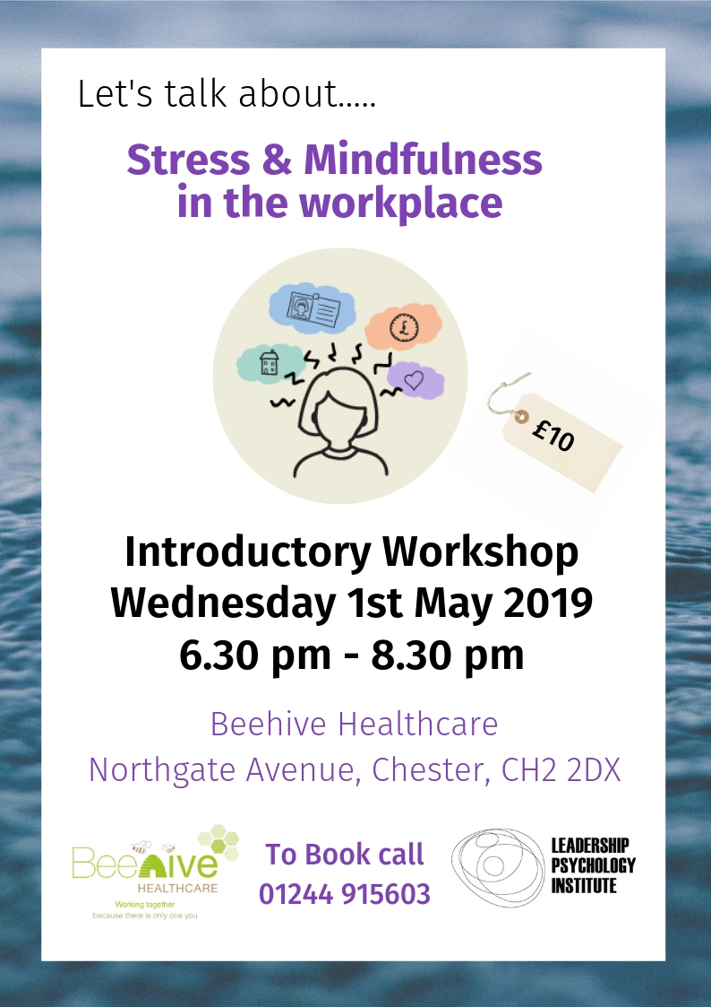 Beehive Health and Wellbeing Centre | Chester | stress workshop