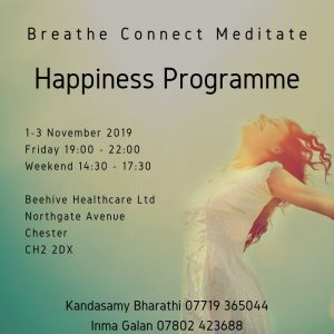 Beehive Healthcare Chester | Health and Wellbeing Centre | Happiness Programme