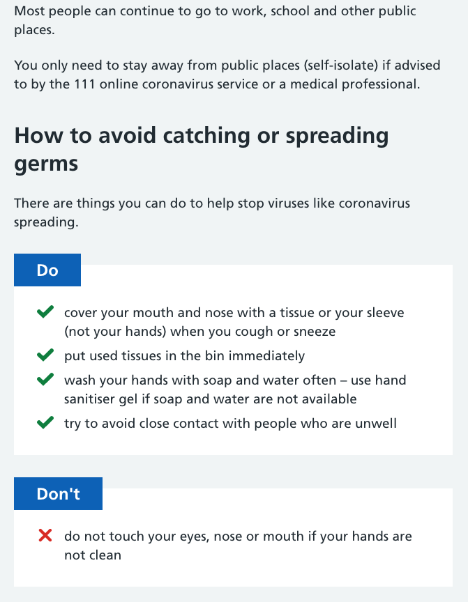 Beehive Healthcare Chester   Health and Wellbeing Centre   Coronavirus Advice