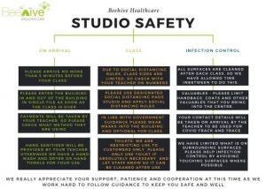 beehive studio hygiene rules