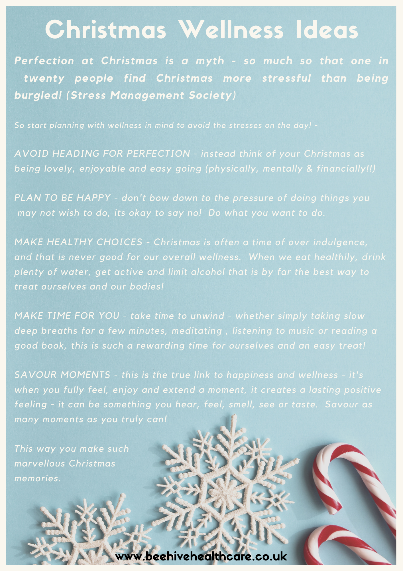 Christmas Wellness Ideas