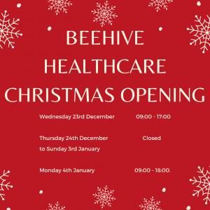 Beehive christmas opening image