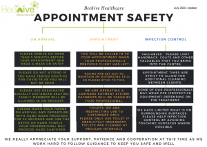 beehive appointment safety